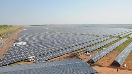Солнечная станция Т Плюс мощностью 30 МВт начала выработку электроэнергии