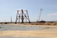На Подольском месторождении началось возведение шахтного копра