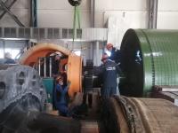 На Корбалихинском руднике начался монтаж ШПМ производства Уралмашзавода