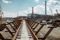 На Производстве полиметаллов завершился ремонт железнодорожного пути для выгрузки сырья